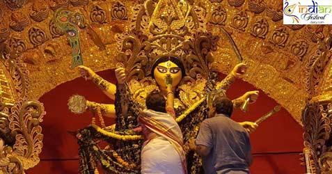 Adi Ballygunge Sarbojanin Durga Puja 2019