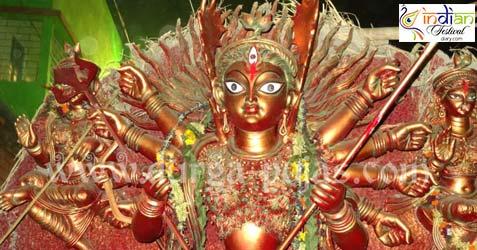 ajeya sanghati durga puja images 2012