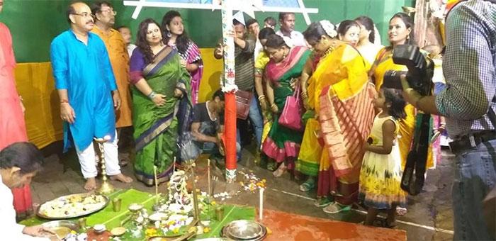 Badamtala Ashar Sangha Khuti Puja 2018