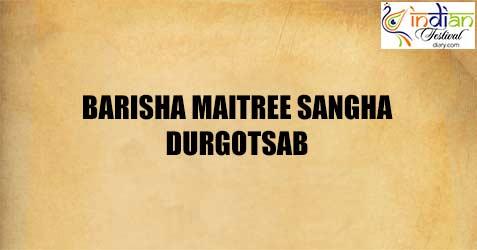 barisha maitree sangha durgotsab images 2019