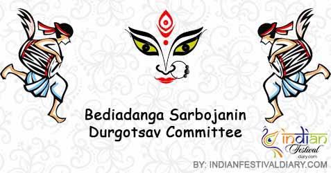 bediadanga sarbojanin durgotsav committee images 2020