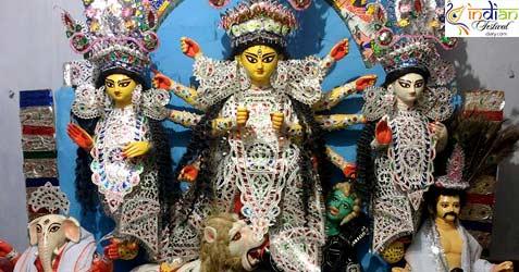 Bhowanipore De Bari Durga Puja 2016