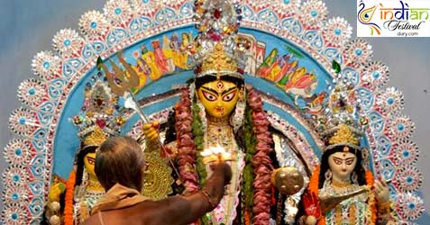 Bhowanipore Mitra Bari Durga Puja 2016