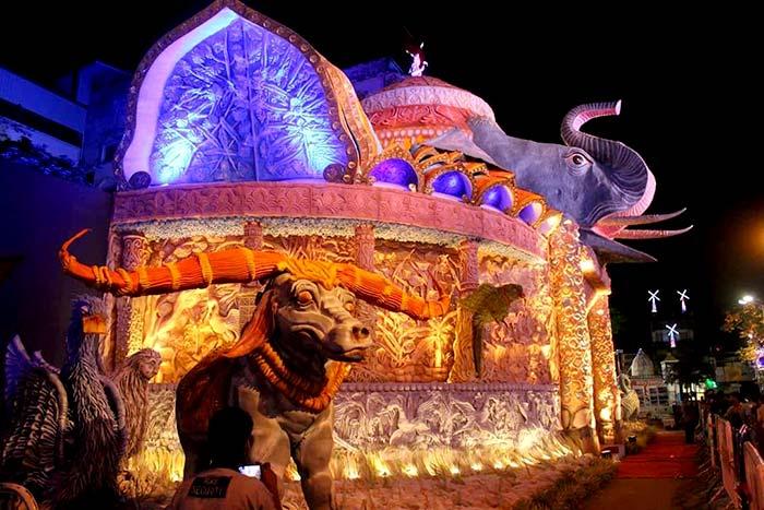Chaltabagan Lohapatty Durga Puja 2017