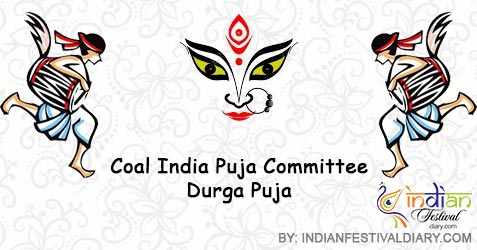 coal india puja committee durga puja 2018
