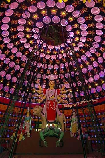 Dum Dum Park Sarbojanin Durga Puja 2017