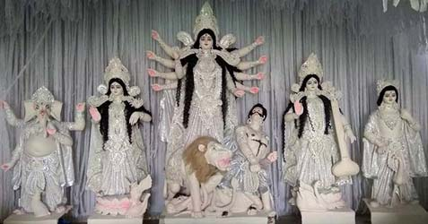 ghoshpara sankalpa sangha durga puja images 2017