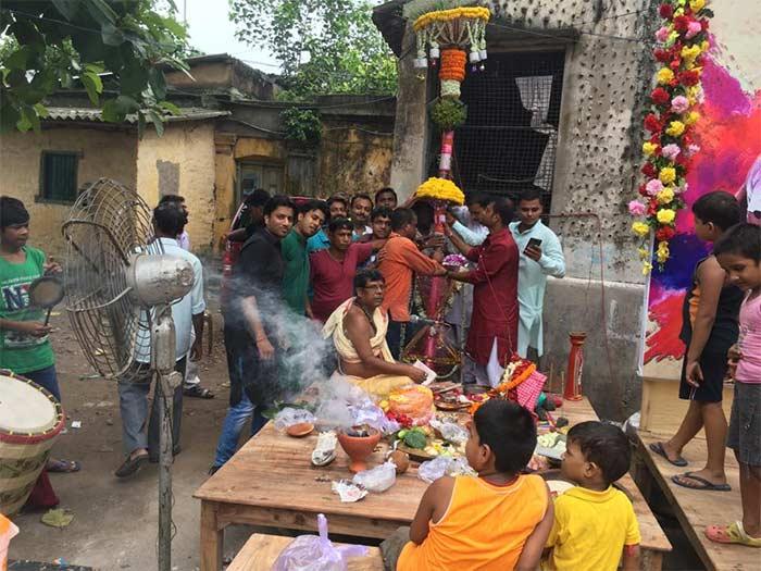 gopal nagar kalyan sangha durga puja 2017