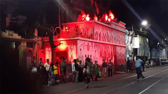 Grey Street Sarbojanin Durga Puja 2018