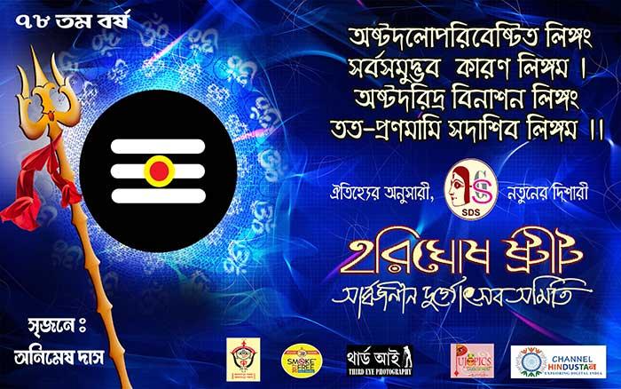 hari ghosh street sarbojanin durgotsab samity 2017