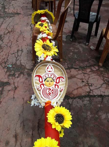 Hari Ghosh Street Sarbojanin Durgotsab Samity Khuti Puja 2018