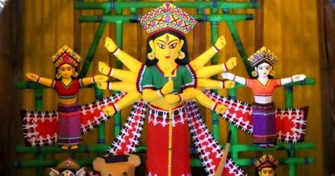 himachal sangha durga puja