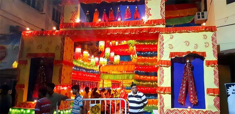 Hindustan Pally Durga Puja 2018