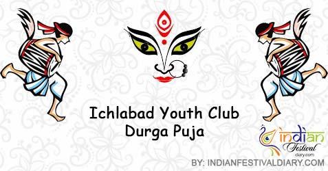 ichlabad youth club durga puja images 2020