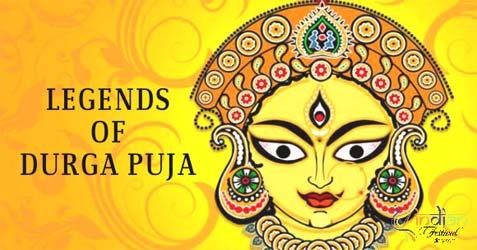 legends of durga puja