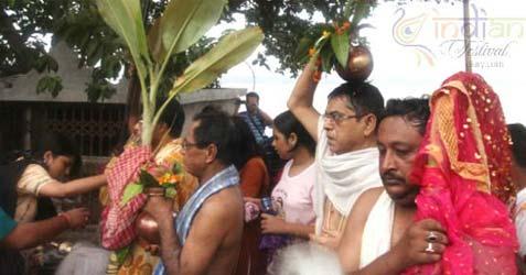rituals of durga puja