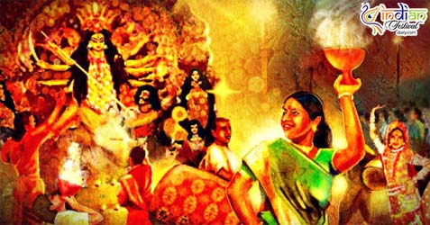 tradition of durga puja
