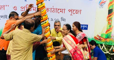 Jagat Mukherjee Park Durga Puja 2019