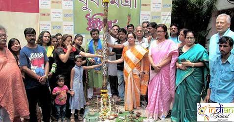 Jubamaitry Kalighat Durga Puja 2017
