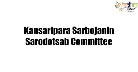 Kansaripara Sarbojanin Sarodotsab Committee 2017