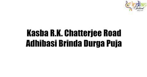 kasba r.k. chatterjee road adhibasi brinda durga puja images 2019