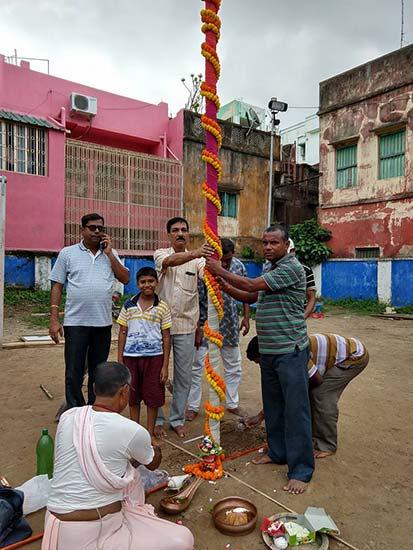 Kashi Bose Lane Durga Puja 2018