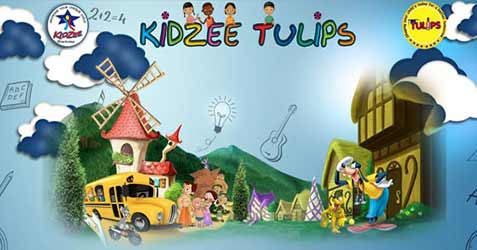 kidzee tulips and tulipians preschool durga puja