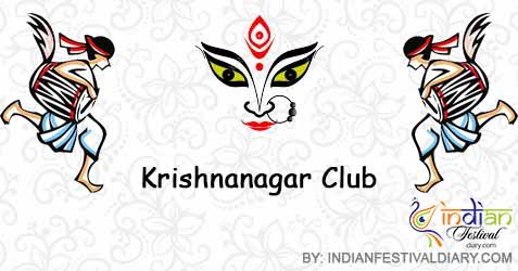 krishnanagar club durga puja
