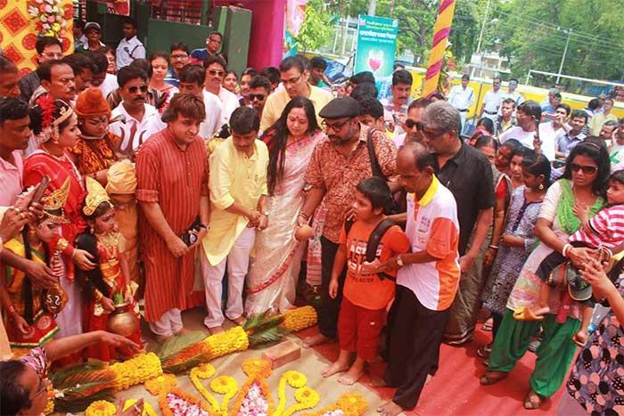 Naktala Udayan Sangha Khuti Puja 2017