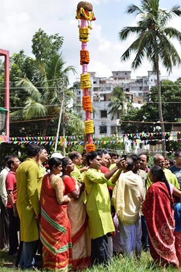 Palli Unnayan Samity (Basudevpur) Durga Puja 2018