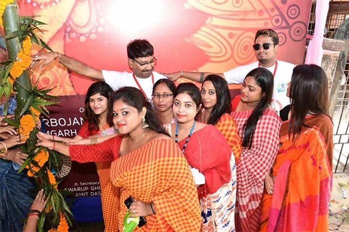 ramgarh satapally sarbojanin durgotsav committee 2018