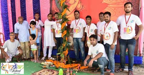 ramgarh satapally sarbojanin durgotsav committee images 2018