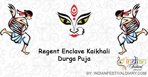 Regent Enclave Durga Puja 2019