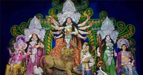 Sabuj Sangha Durga Puja 2019