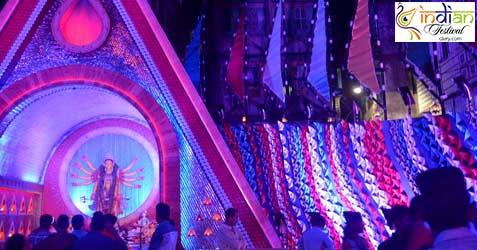 Sahapur Colony East Durga Puja 2016