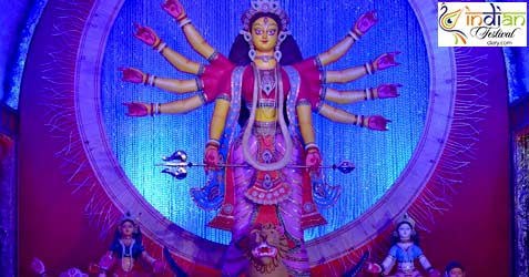 sahapur colony east durga puja