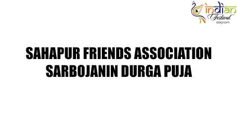 sahapur friends association sarbojanin images 2019