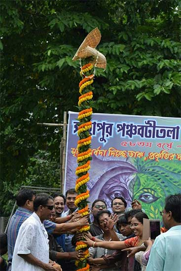 Sahapur Panchabatitala Sammilani Durga Puja 2017