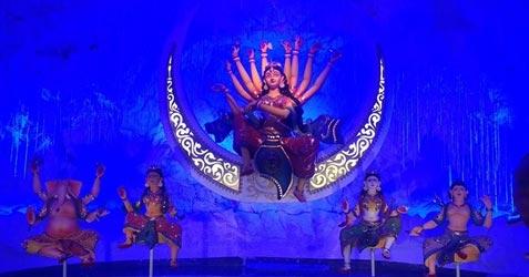 Salkia Sadharan Durga Puja 2017