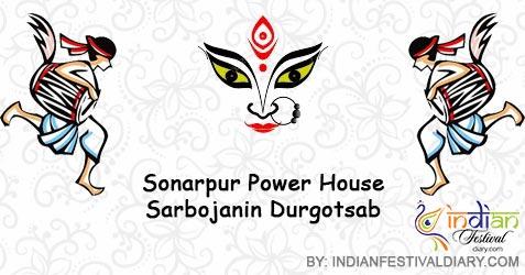 sonarpur power house sarbojanin durgotsab images 2019