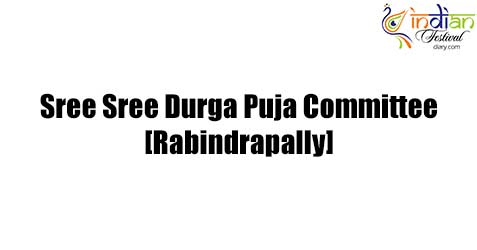 sree sree durga puja committee, rabindrapally images 2019