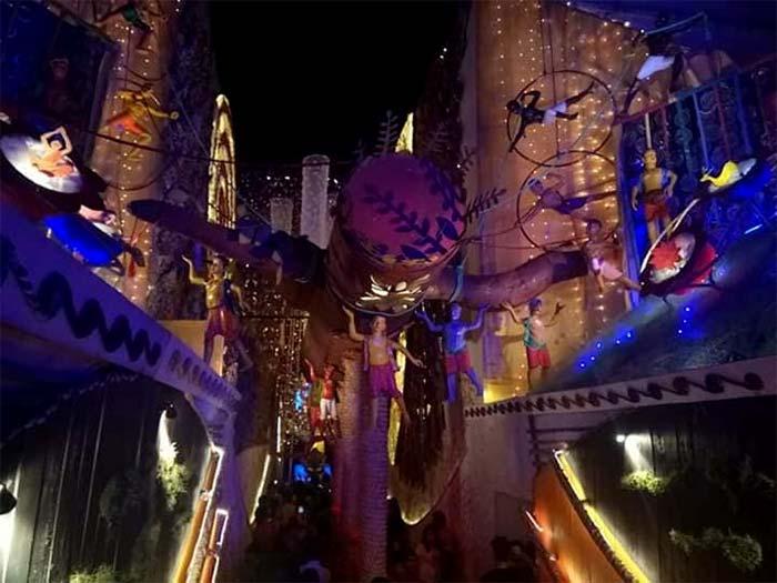 Ultadanga Pallyshree Durga Puja 2018