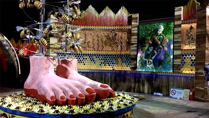 Ultadanga Sangrami Durga Puja 2017