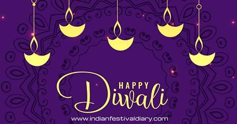 Diwali festival greetings 2021