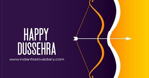 Dussehra festival greetings 2021