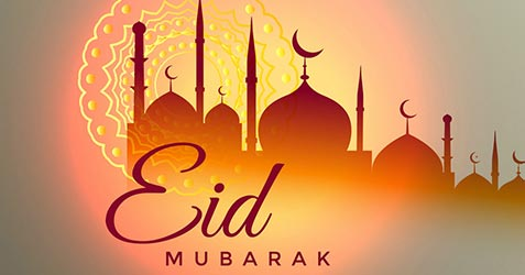 Eid ul-Fitr festival greetings 2021