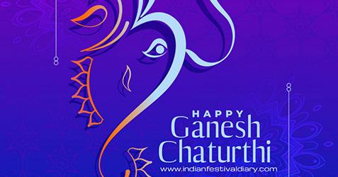 Ganesh Chaturthi festival greetings 2021