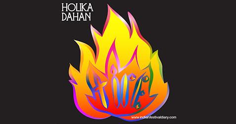 Holika Dahan festival greetings 2021
