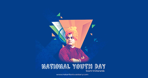 National Youth Day festival greetings 2021