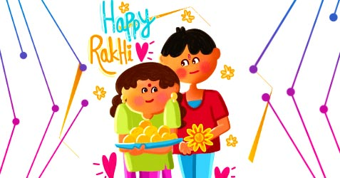 Raksha Bandhan festival greetings 2021